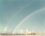 Double Rainbow prior to Opening Day Ceremony by Florida International University