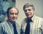 Charles Perry and Unidentified Man by Florida International University