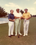 Charles Perry and Two Men on Golf Course