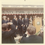 Groundbreaking Ceremonies 1/25/71 with FIU President Charles E. Perry