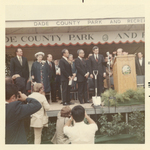 Groundbreaking Ceremony 1/25/71 with FIU President Charles E. Perry