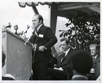 Charles Perry Giving a Speech