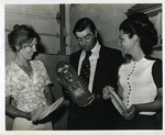 Margaret Klein, Jack Weaver and Barbara O'Nan with Toys for Managuan Relief by Florida International University