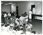 Marjory Stoneman Douglass Delivering Presentation on April 4, 1973 for Friends of the Everglades by Florida International University