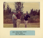Charles Perry, Alvin Dark, Lee Danielson Playing Golf by Florida International University