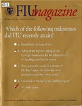 Florida International University Magazine Fall 2000 by Florida International University Division of University Relations