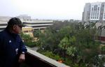 President Mark B. Rosenberg on MMC Campus Ahead of the Storm by Florida International University