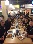 FIU Police Officers Ahead of the Storm by Florida International University