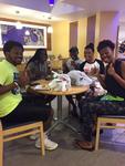 Students at the Fresh Food Company by Florida International University
