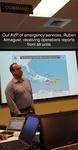 Ruben Almaguer in the Emergency Operations Center, September 5, 2017 by Florida International University