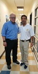 Congressman Carlos Curbelo and University President Mark B. Rosenberg by Florida International University