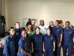 Labor Secretary Alexander Acosta, Representative Jeanette Nunez and Senator Oscar Braynon, with U.S. Publice Health Service Workers by Florida International University