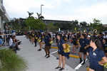 Marching Band Performs for Monroe County Evacuees by Florida International University