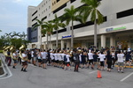Marching Band Performs for Monroe County Evacuees #2 by Florida International University