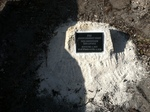 Buried Time Capsule and Plaque