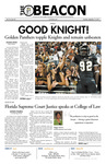 The Beacon, October 19, 2011