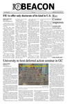 The Beacon, January 28, 2015 by Florida International University