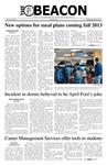 The Beacon, April 3, 2013