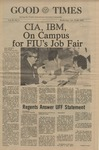 The Good Times, January 21, 1976 by Florida International University