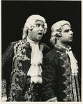 Joseph Kaplan, left, as Dr. Von Stoerck and Oscar Cheda, right, as Mesmer. by Department of Theatre, Florida International University