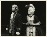Oscar Cheda as Mesmer and Kimberly Daniel as Maria Von Bosch by Department of Theatre, Florida International University