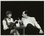 Boris Kievsky as Bill and Lorraine Lopez as Betty in Sure Thing, All in the Timing. by Department of Theatre, Florida International University