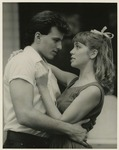Tony Villar as Hal and Suzanne Kralik as Madge in Picnic by Department of Theatre, Florida International University