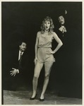 Howard Coher, Suzanne Kralik and Arsenio Aribitg in Noises Off by Department of Theatre, Florida International University