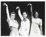 Annamarie McCartney, Ana Maria Lagasca, and Tanisha J. Moore in Company by Department of Theatre, FIU