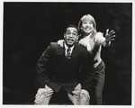 Oldy McFarlane and Lorraine Lopez in Company A Musical Comedy by Department of Theatre, FIU