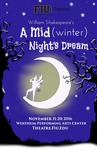 A Mid(winter) Night's Dream poster by Department of Theatre, Florida International University