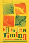 All In The Timing, Six Short Plays [Postcard]