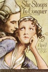 She Stoops to Conquer postcard