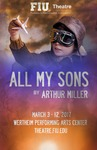 All My Sons postcard by Department of Theatre, Florida International University