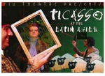 Picasso at the Lapin Agile postcard