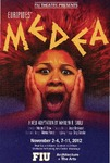 Euripides' Medea postcard by Department of Theatre, Florida International University
