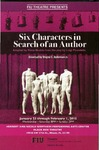 Six Characters in Search of an Author Postcard by Department of Theatre, Florida International University