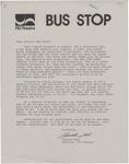 Bus Stop invitation