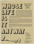 Whose Life Is It Anyway? mailer