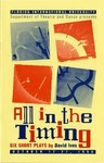 All in the Timing, Six Short Plays by Department of Theatre, Florida International University