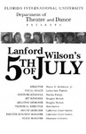 5th of July by Department of Theatre, Florida International University