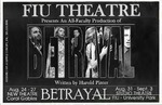 Betrayal by Department of Theatre, Florida International University