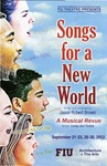 Songs for a New World A Musical Revue by Department of Theatre, Florida International University