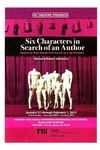 Six Characters in Search of an Author by Department of Theatre, Florida International University